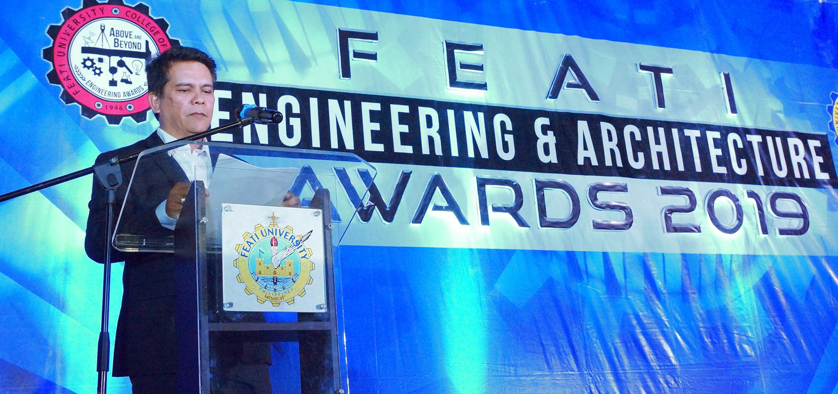 FEATI U salutes its outstanding engineers and architects